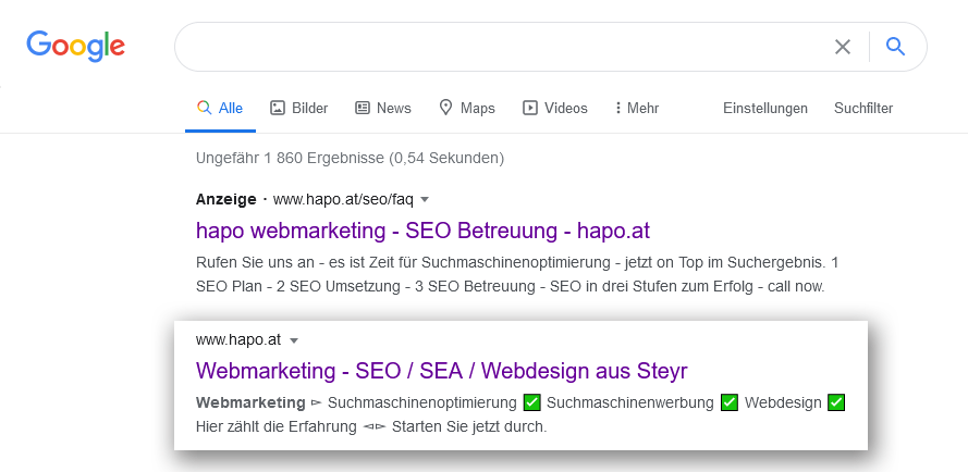 meta tags - snippets